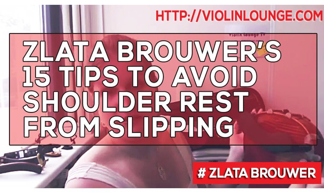 [Video] 15 Tips to Stop your Shoulder Rest from Slipping