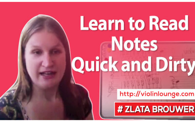 Learn to Read Notes – Quick and Dirty!