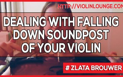 What To Do if the Soundpost of Your Violin Falls Down?