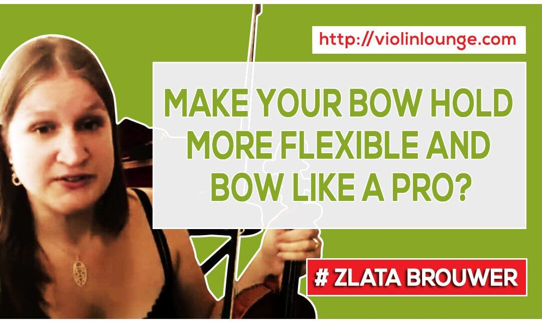 How to Make Your Bow Hold More Flexible and Bow Like a Pro?