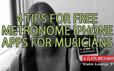 4 Tips for Free Metronome iPhone Apps for Musicians