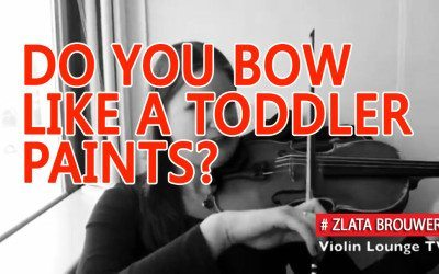 Do You Bow like a Toddler Paints?