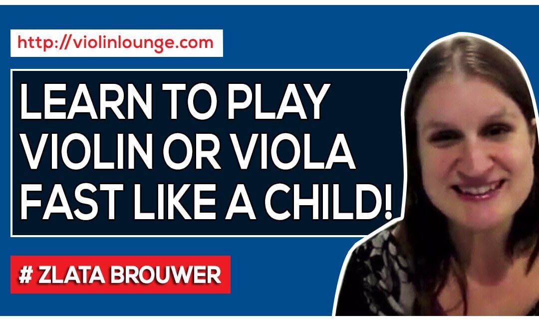 how to play violin faster