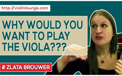 Why Would You Want to Play the Viola???