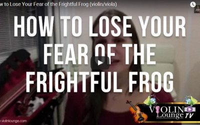 How to Lose Your Fear of the Frightful Frog