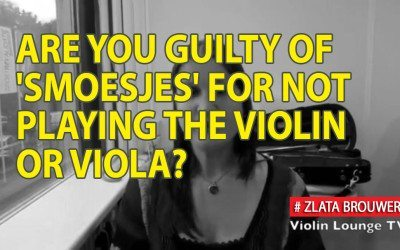 Are You Guilty of 'Smoesjes' for Not Playing the Violin or Viola?