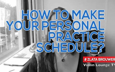 How To Make Your Personal Practice Schedule?