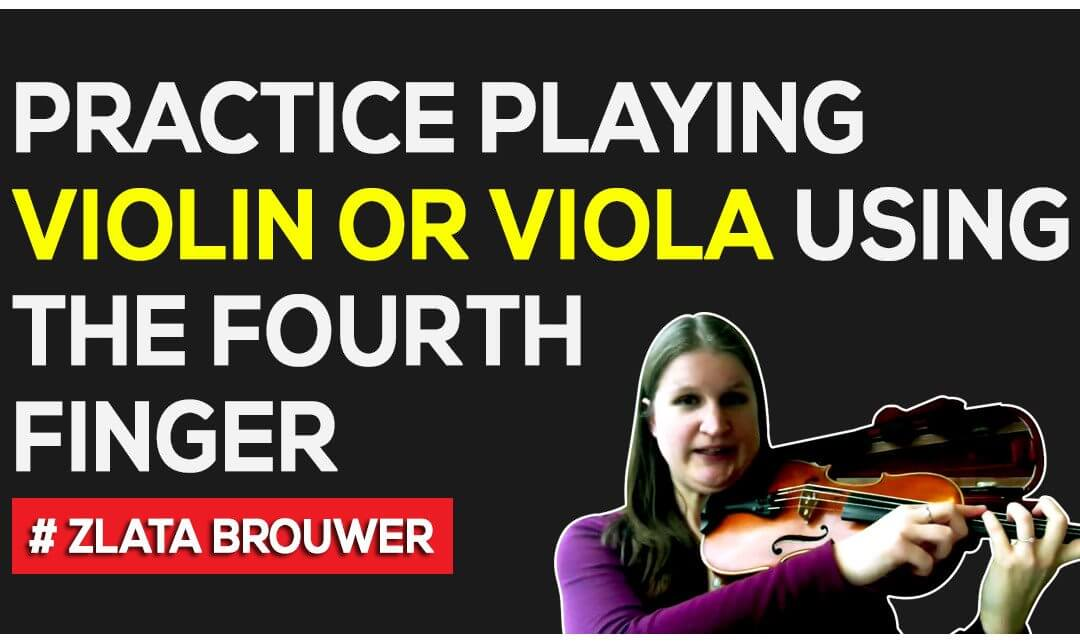 How to Play in Tune with the Fourth Finger on the Violin or Viola