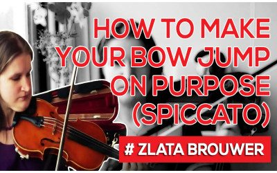 How to Make Your Bow Jump on Purpose (Spiccato)