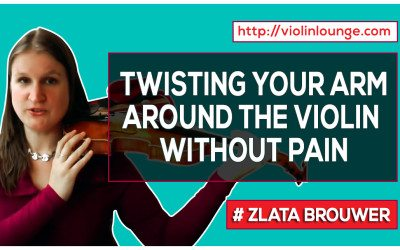 How to 'Twist' Your Arm around the Violin Without Pain