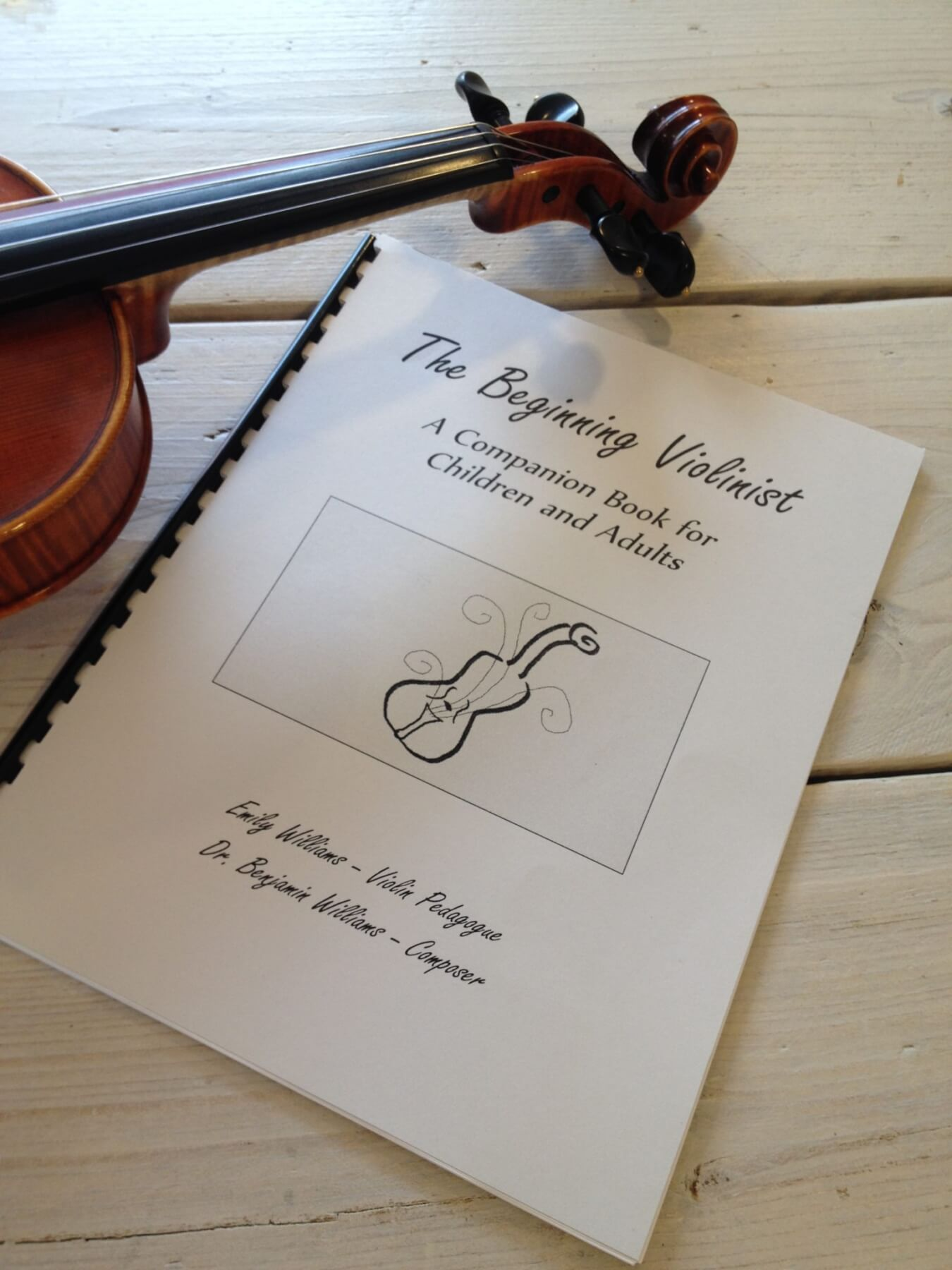 Interview with Emily Williams: Violinist, Teacher and Author of 'The Beginning Violinist'