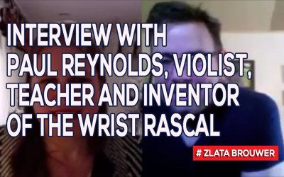 Interview with Paul Reynolds, Violist, Teacher and Inventor of the Wrist Rascal
