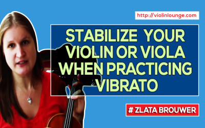 How NOT To Move Your Violin or Viola when Practicing Vibrato