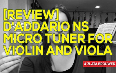 [Review] D'addario NS Micro Tuner for Violin and Viola