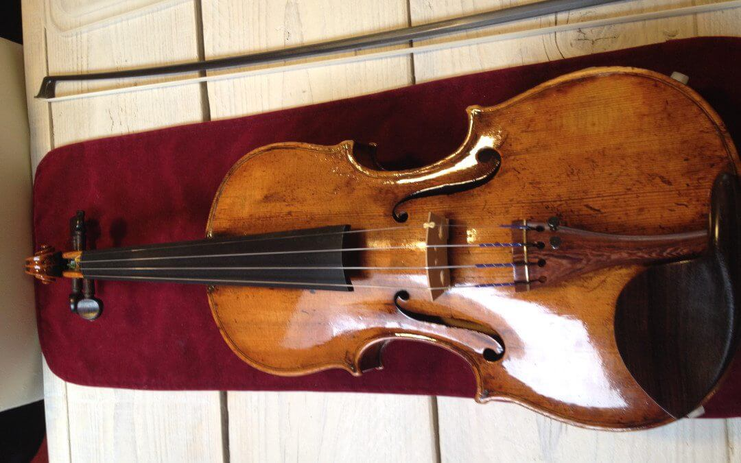 My new old German violin and it's story