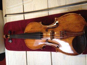 mijn viool nieuwe staat
