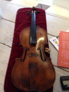 mijn viool oude staat