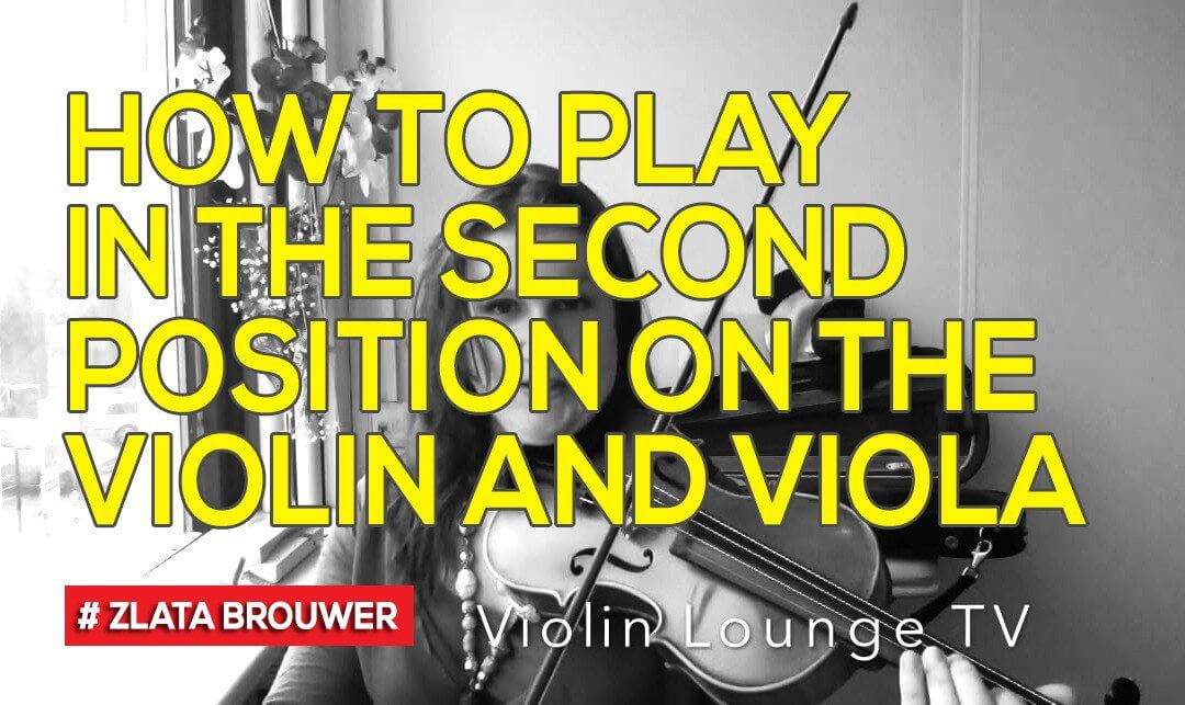 How To Play in the Second Position on the Violin and Viola