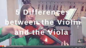 5 Differences between the Violin and the Viola