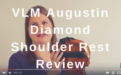 VLM Augustin Diamond Shoulder Rest Review