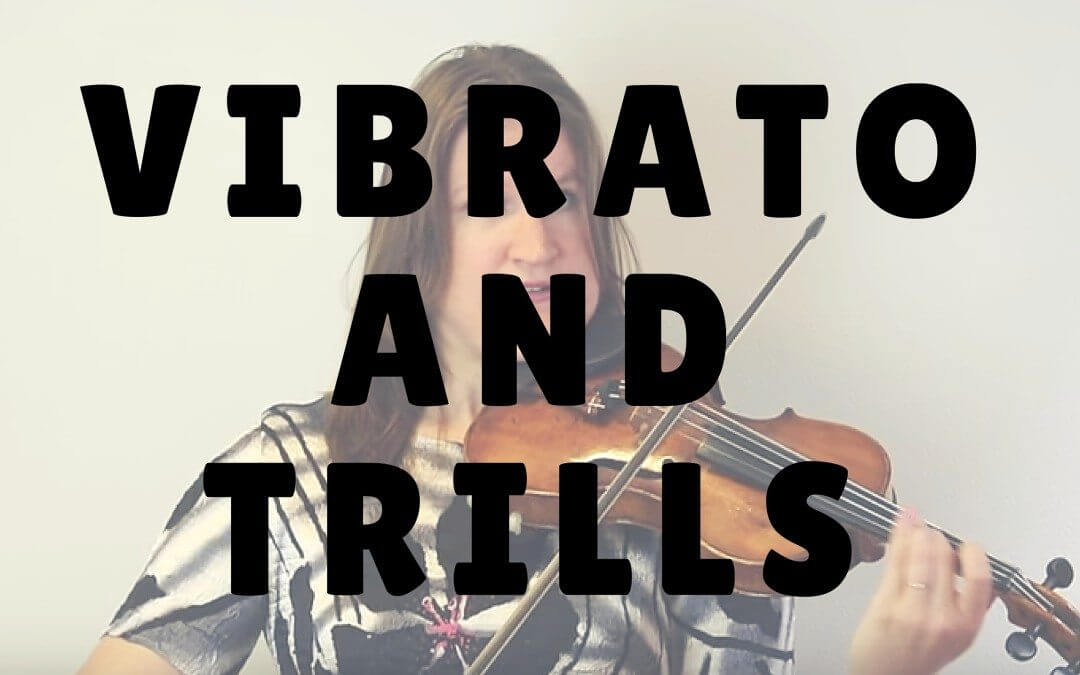 What Trills can Teach You about Vibrato on the Violin and Viola | Violin Lounge TV #223
