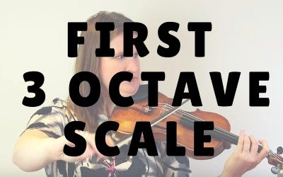 Your First 3 Octave Major Scale on the Violin or Viola | Violin Lounge TV #222