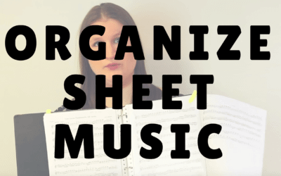 How to organize your sheet music | Violin Lounge TV #230