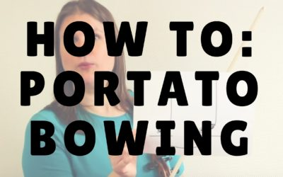 [Video] How to: Portato Bowing | Violin Lounge TV #247