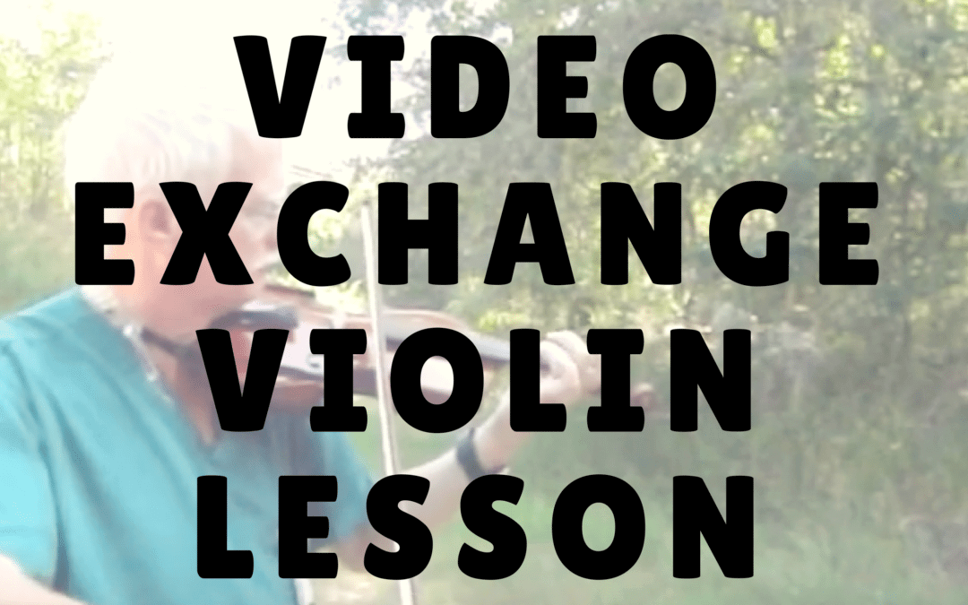 [Video] Video Exchange with my Online Violin Student Blair
