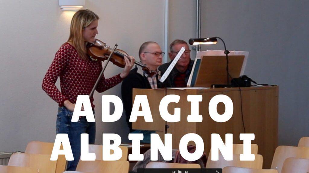 adagio albinoni violin organ