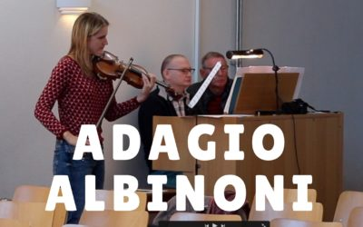 Adagio by Albinoni (violin and organ)