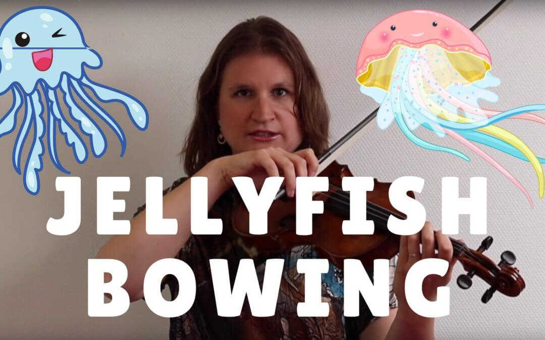 How to Bow Smoothly with Jellyfish Bowing | Violin Lounge TV #262
