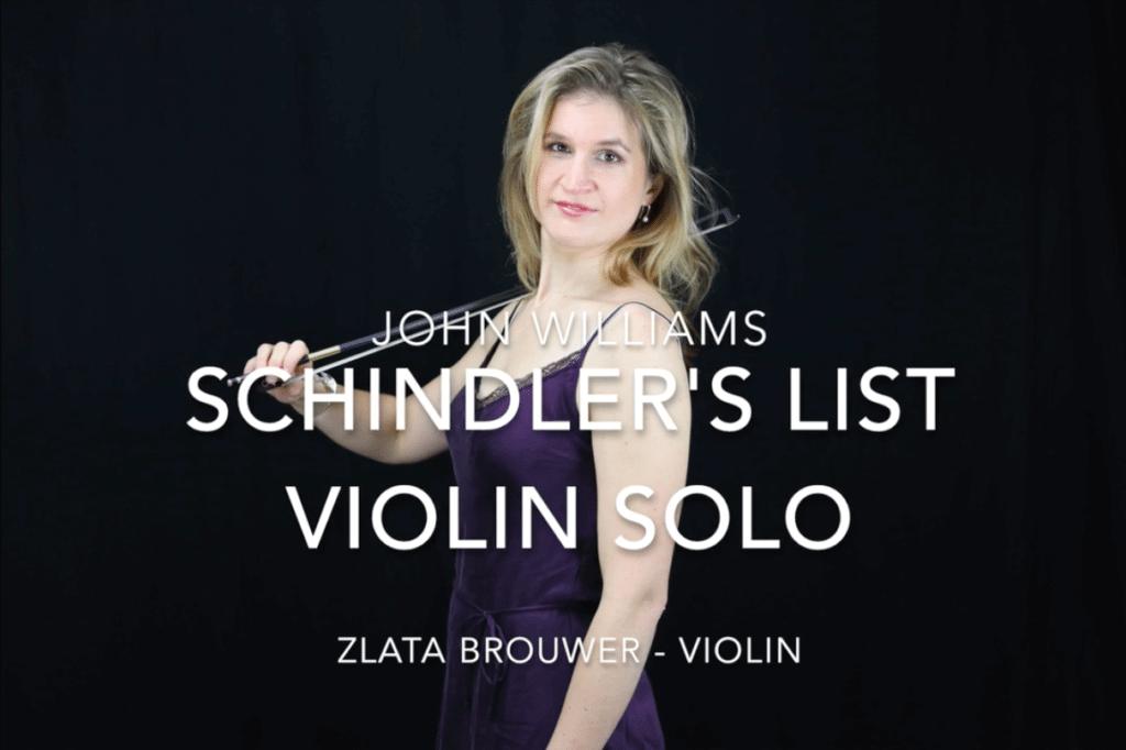 Schindler's List - Violin Solo - John Williams