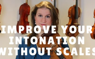 How my Intonation Improved when I Stopped Practicing Scales | Violin Lounge TV #263