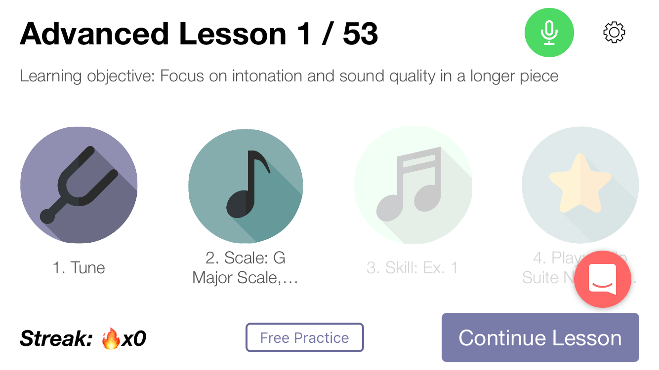 violin lessons on your phone