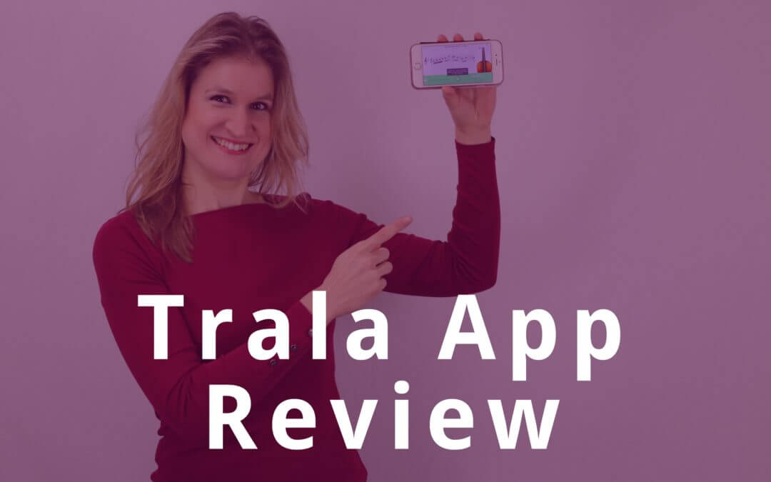 Trala App Review: Violin Lessons on your Phone | Violin Lounge TV #269