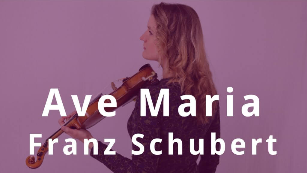 Ave Maria Schubert violin piano