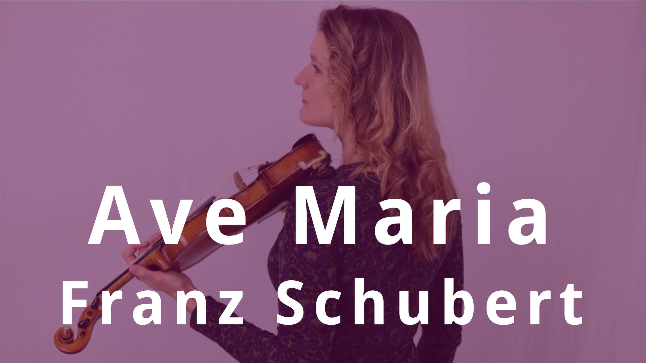 Ave Maria Schubert violin piano