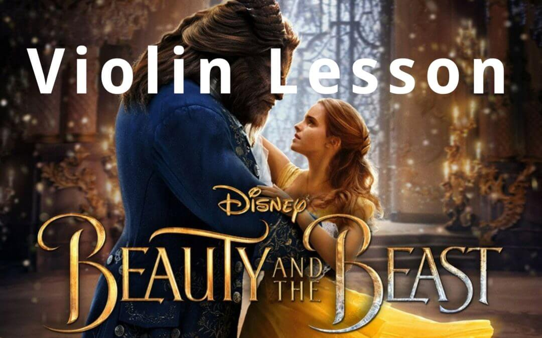 How to Play the Beauty and the Beast Theme   Violin Lounge TV #273