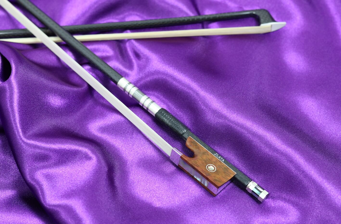 Zlata carbon violin bow 3