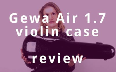 Gewa Air 1.7 Violin Case Review | Violin Lounge TV #278