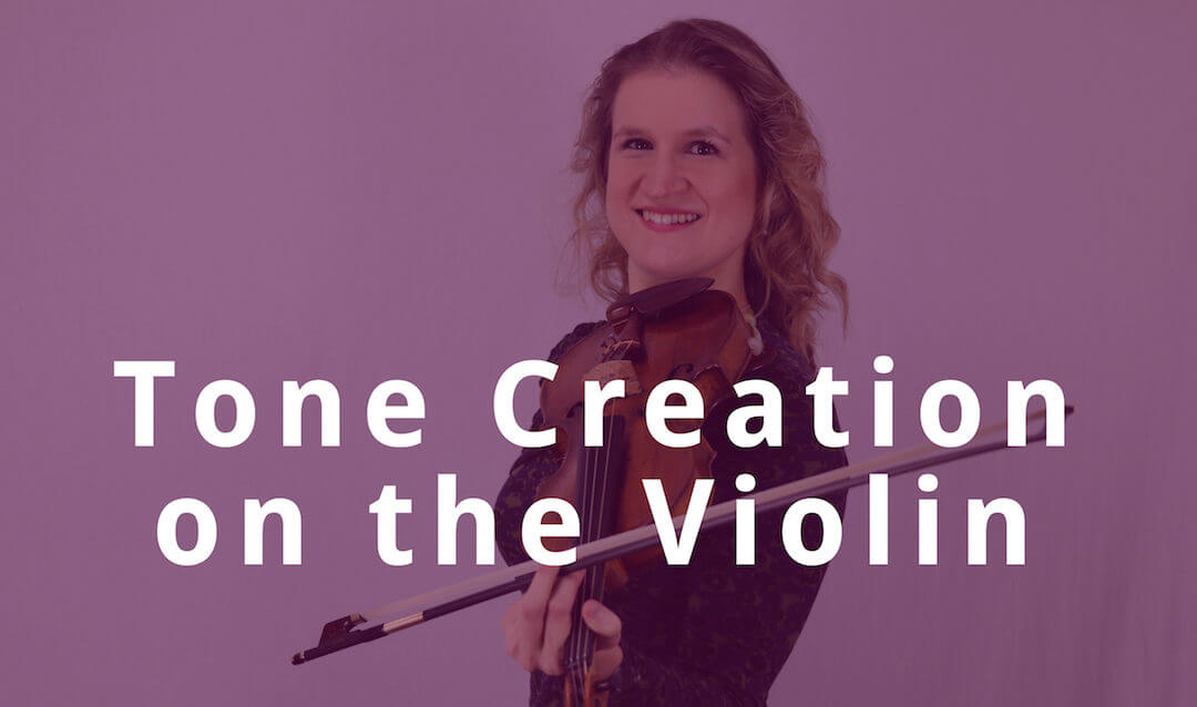 Master Tone Creation on the Violin in less than 5 Minutes | Violin Lounge TV #277