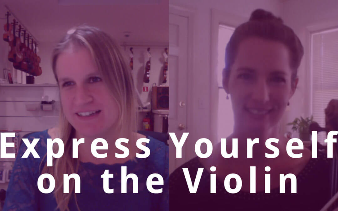 How to Express yourself in Music with Emily Williams | Violin Lounge TV #282