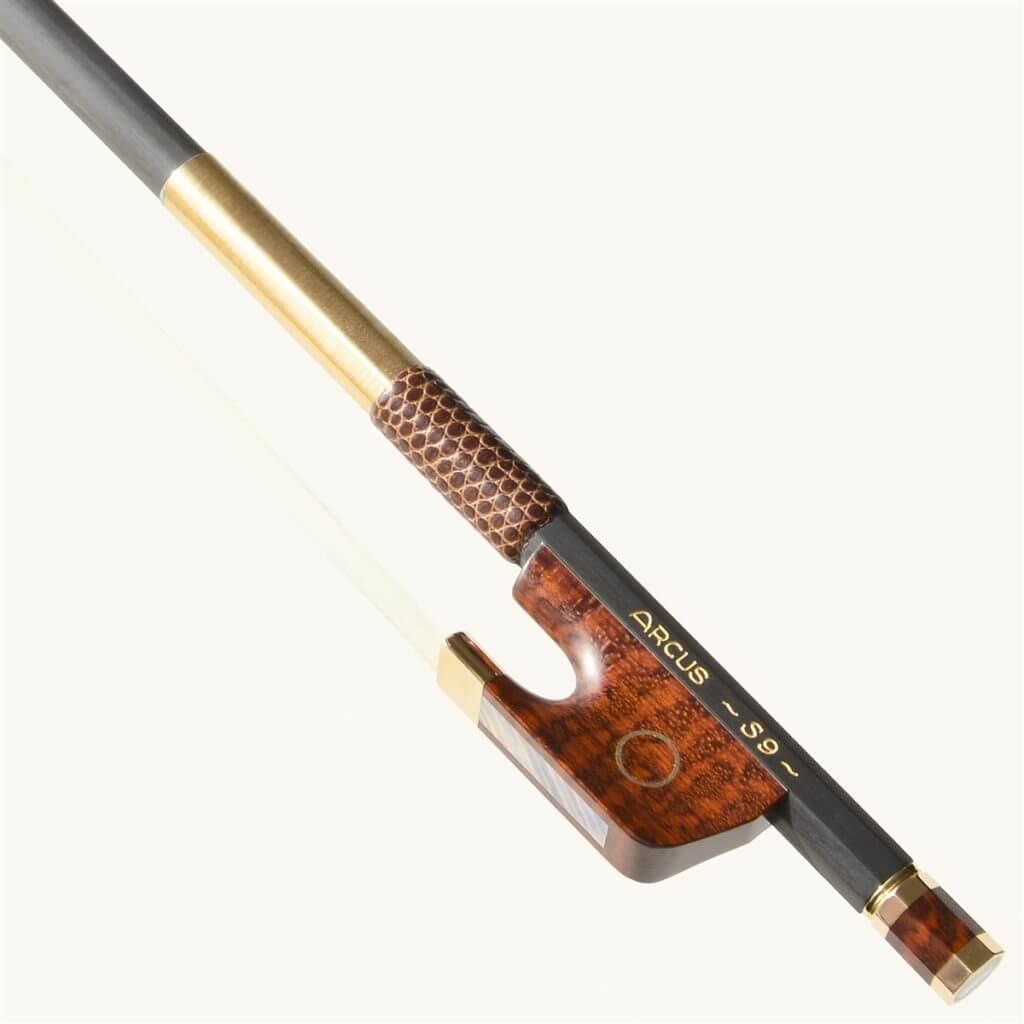 arcus s9 round carbon fiber violin bow