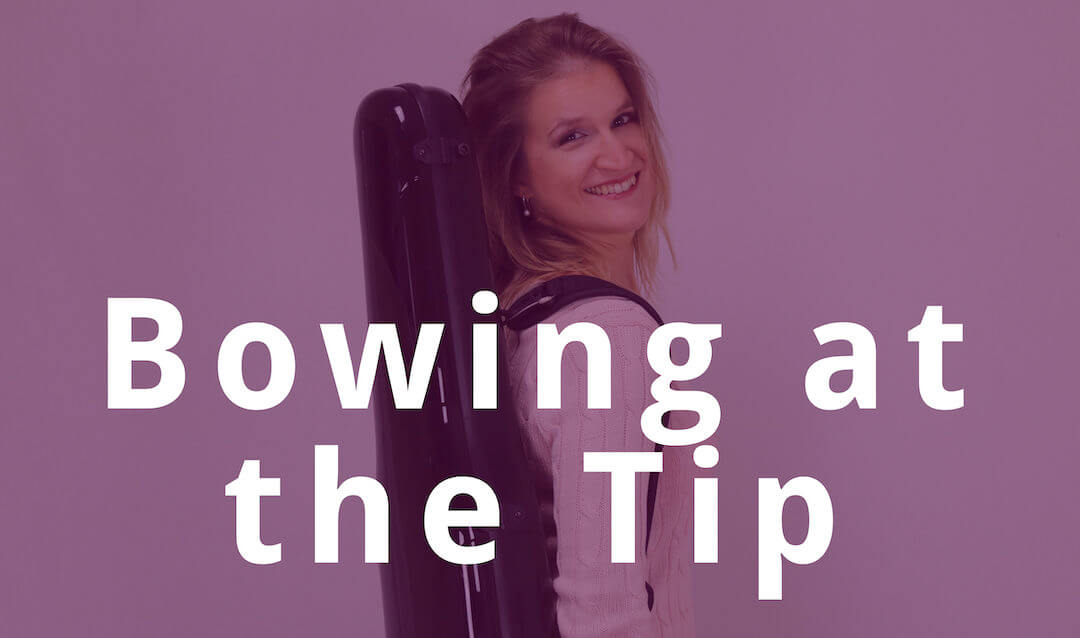5 Tips for Beautiful Pianissimo Bowing at the Tip | Violin Lounge TV #285