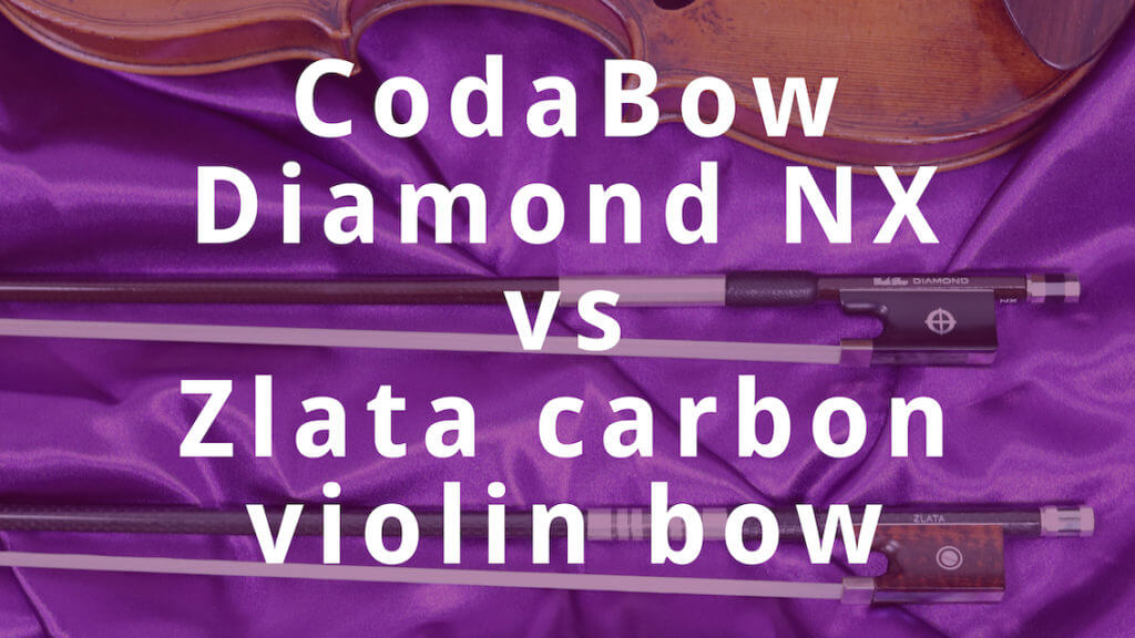 CodaBow Diamond NX vs Zlata bow