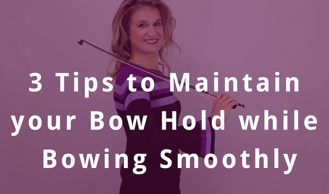 3 Tips to Stop your Hand from Sliding up the Bow | Violin Lounge TV #295