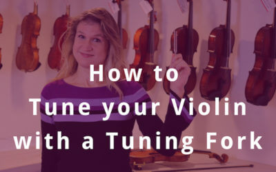How to Tune your Violin with a Tuning Fork (Advanced)