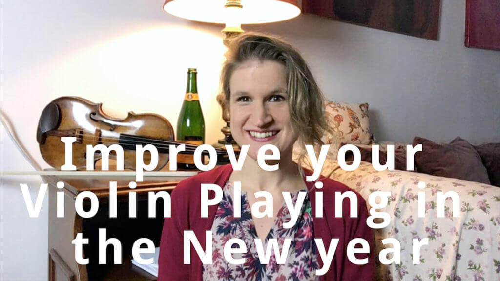 Improve your Violin Playing in the New Year
