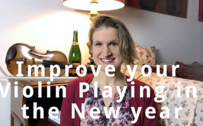 New Year's Resolutions about Violin Playing